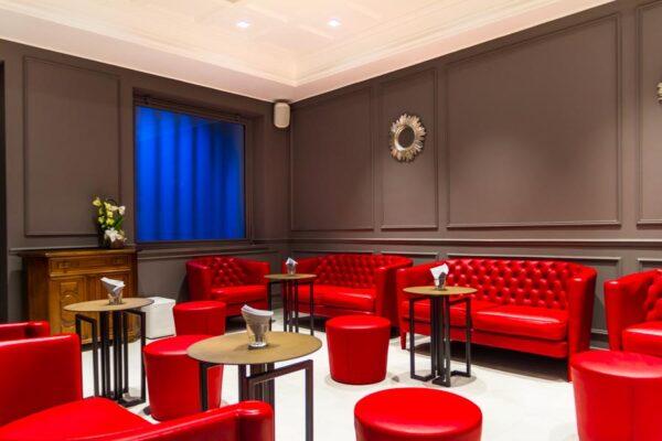 Illuminazione Saletta Lounge