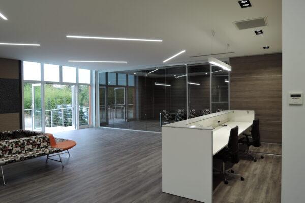 Illuminazione sala d'aspetto